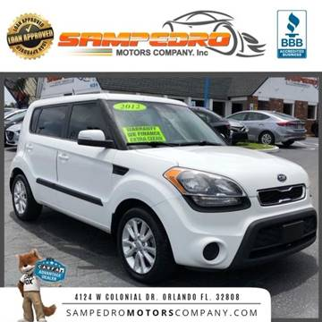 2012 Kia Soul for sale at SAMPEDRO MOTORS COMPANY INC in Orlando FL