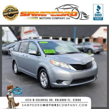 2011 Toyota Sienna for sale in Orlando, FL