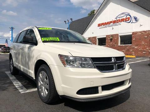 2014 Dodge Journey for sale at SAMPEDRO MOTORS COMPANY INC in Orlando FL