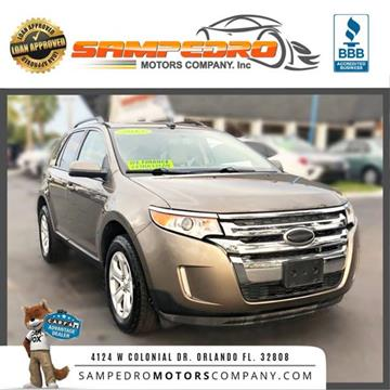2013 Ford Edge for sale at SAMPEDRO MOTORS COMPANY INC in Orlando FL
