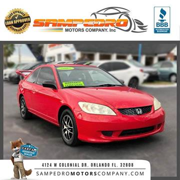 2005 Honda Civic for sale in Orlando, FL