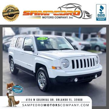 2014 Jeep Patriot for sale at SAMPEDRO MOTORS COMPANY INC in Orlando FL