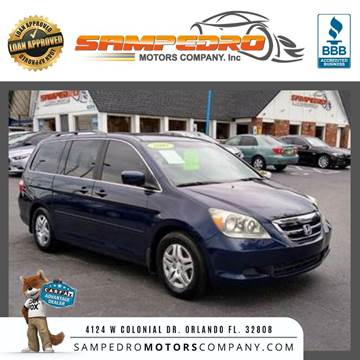 2007 Honda Odyssey for sale at SAMPEDRO MOTORS COMPANY INC in Orlando FL