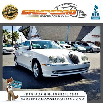 2001 Jaguar S-Type for sale at SAMPEDRO MOTORS COMPANY INC in Orlando FL