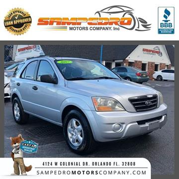 2007 Kia Sorento for sale at SAMPEDRO MOTORS COMPANY INC in Orlando FL