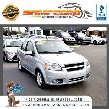2011 Chevrolet Aveo for sale at SAMPEDRO MOTORS COMPANY INC in Orlando FL