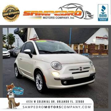 2012 FIAT 500c for sale at SAMPEDRO MOTORS COMPANY INC in Orlando FL