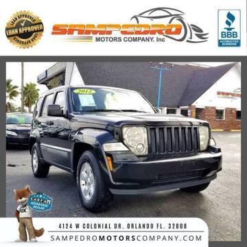2012 Jeep Liberty for sale at SAMPEDRO MOTORS COMPANY INC in Orlando FL