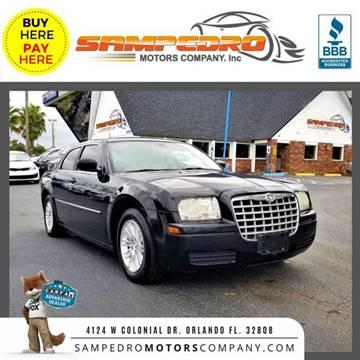 2008 Chrysler 300 for sale at SAMPEDRO MOTORS COMPANY INC in Orlando FL