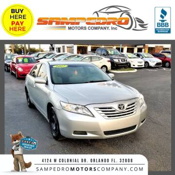 2007 Toyota Camry for sale at SAMPEDRO MOTORS COMPANY INC in Orlando FL