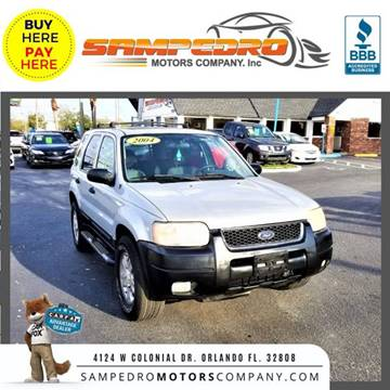 2004 Ford Escape for sale at SAMPEDRO MOTORS COMPANY INC in Orlando FL