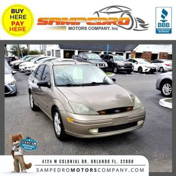 2003 Ford Focus for sale at SAMPEDRO MOTORS COMPANY INC in Orlando FL
