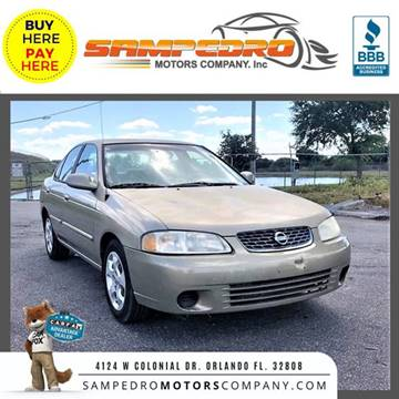 2003 Nissan Sentra for sale at SAMPEDRO MOTORS COMPANY INC in Orlando FL