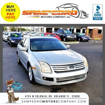2006 Ford Fusion for sale at SAMPEDRO MOTORS COMPANY INC in Orlando FL