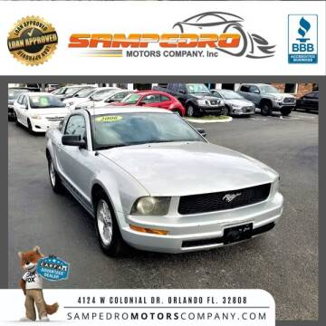 2006 Ford Mustang for sale at SAMPEDRO MOTORS COMPANY INC in Orlando FL