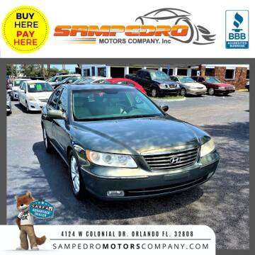 2006 Hyundai Azera for sale at SAMPEDRO MOTORS COMPANY INC in Orlando FL