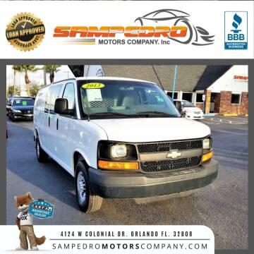 2013 Chevrolet Express Cargo for sale at SAMPEDRO MOTORS COMPANY INC in Orlando FL
