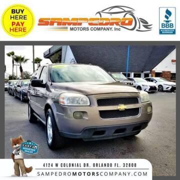 2006 Chevrolet Uplander for sale at SAMPEDRO MOTORS COMPANY INC in Orlando FL