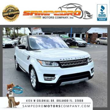 2016 Land Rover Range Rover Sport for sale at SAMPEDRO MOTORS COMPANY INC in Orlando FL