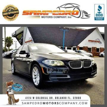 2014 BMW 5 Series for sale at SAMPEDRO MOTORS COMPANY INC in Orlando FL