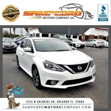 2016 Nissan Sentra for sale at SAMPEDRO MOTORS COMPANY INC in Orlando FL
