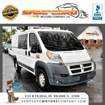 2015 RAM ProMaster Cargo for sale at SAMPEDRO MOTORS COMPANY INC in Orlando FL