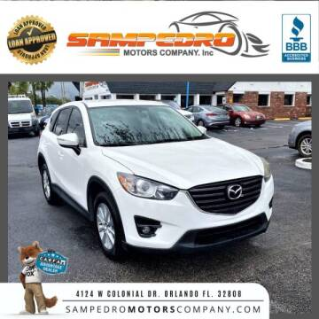 2016 Mazda CX-5 for sale at SAMPEDRO MOTORS COMPANY INC in Orlando FL