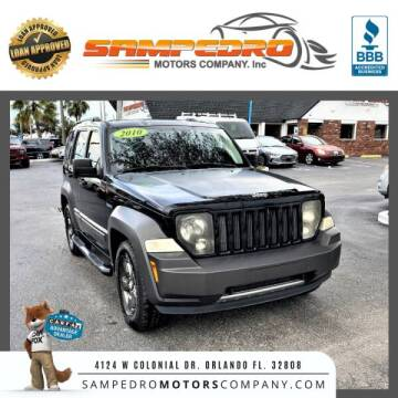 2010 Jeep Liberty for sale at SAMPEDRO MOTORS COMPANY INC in Orlando FL
