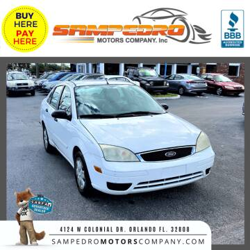 2007 Ford Focus for sale at SAMPEDRO MOTORS COMPANY INC in Orlando FL
