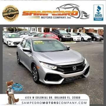 2018 Honda Civic for sale at SAMPEDRO MOTORS COMPANY INC in Orlando FL