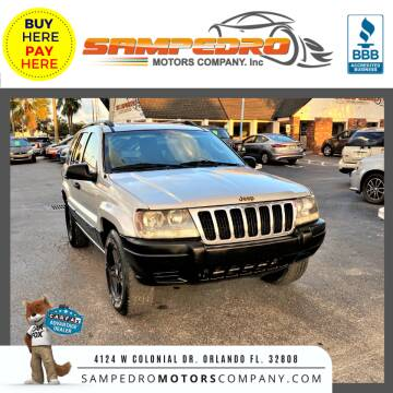2003 Jeep Grand Cherokee for sale at SAMPEDRO MOTORS COMPANY INC in Orlando FL