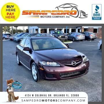 2008 Mazda MAZDA6 for sale at SAMPEDRO MOTORS COMPANY INC in Orlando FL