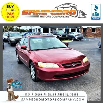 2000 Honda Accord for sale at SAMPEDRO MOTORS COMPANY INC in Orlando FL