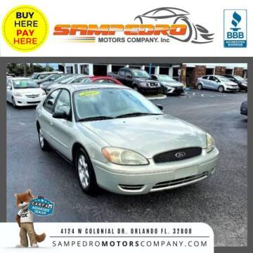 2007 Ford Taurus for sale at SAMPEDRO MOTORS COMPANY INC in Orlando FL