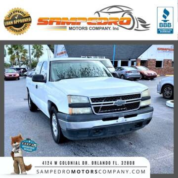 2007 Chevrolet Silverado 1500 Classic for sale at SAMPEDRO MOTORS COMPANY INC in Orlando FL