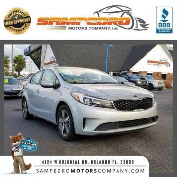 2018 Kia Forte for sale at SAMPEDRO MOTORS COMPANY INC in Orlando FL