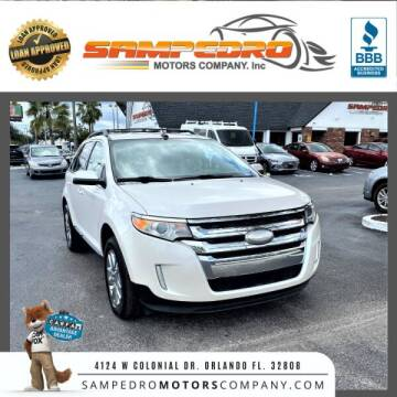 2012 Ford Edge for sale at SAMPEDRO MOTORS COMPANY INC in Orlando FL