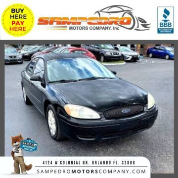 2006 Ford Taurus for sale at SAMPEDRO MOTORS COMPANY INC in Orlando FL