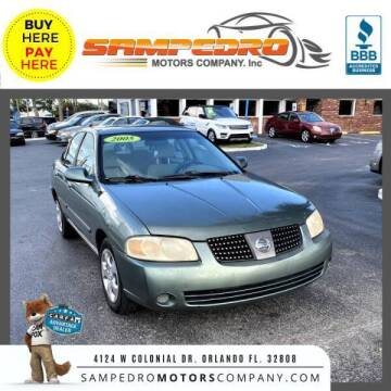 2005 Nissan Sentra for sale at SAMPEDRO MOTORS COMPANY INC in Orlando FL