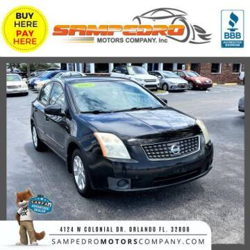 2007 Nissan Sentra for sale at SAMPEDRO MOTORS COMPANY INC in Orlando FL