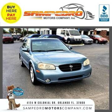 2000 Nissan Maxima for sale at SAMPEDRO MOTORS COMPANY INC in Orlando FL