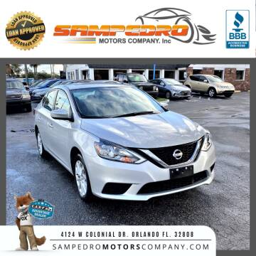 2019 Nissan Sentra for sale at SAMPEDRO MOTORS COMPANY INC in Orlando FL