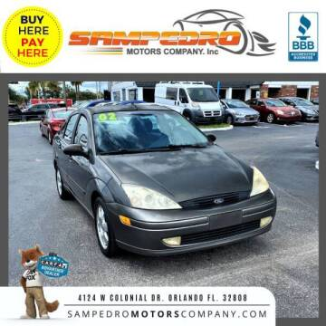 2002 Ford Focus for sale at SAMPEDRO MOTORS COMPANY INC in Orlando FL