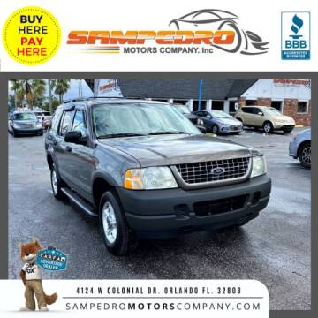 2004 Ford Explorer for sale at SAMPEDRO MOTORS COMPANY INC in Orlando FL