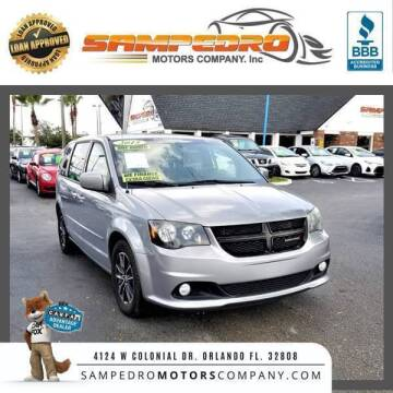 2015 Dodge Grand Caravan for sale at SAMPEDRO MOTORS COMPANY INC in Orlando FL