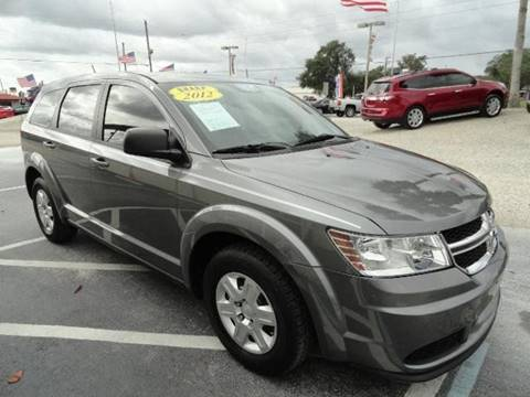 2012 Dodge Journey for sale at SAMPEDRO MOTORS COMPANY INC in Orlando FL