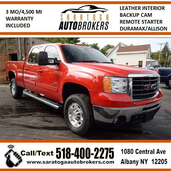 2009 GMC Sierra 2500HD for sale at Saratoga Auto Brokers, LLC in Wilton NY