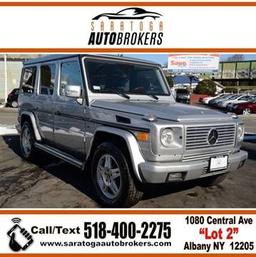2005 Mercedes-Benz G-Class for sale at Saratoga Auto Brokers, LLC in Wilton NY