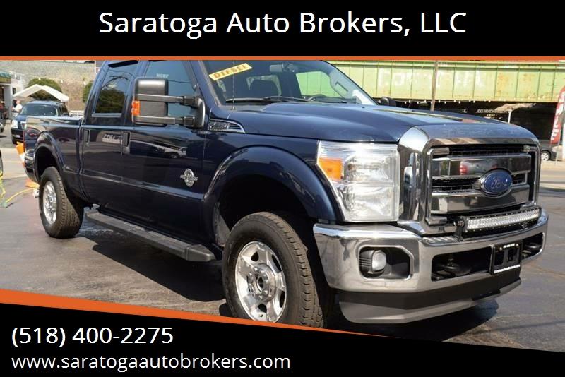 2013 Ford F-250 Super Duty for sale at Saratoga Auto Brokers, LLC in Wilton NY
