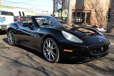 2010 Ferrari California for sale at Saratoga Auto Brokers, LLC in Wilton NY